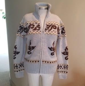 Bogner vintage zip up sweater